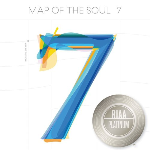 Platinum certificate for BTS's 'MAP OF THE SOUL : 7'