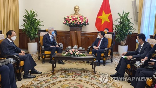 S. Korean vice foreign minister visits Vietnam