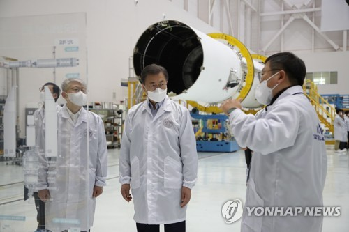 (LEAD) S. Korea's homegrown rocket on track for October launch