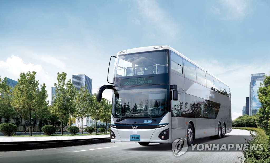 Hyundai's double-decker electric bus