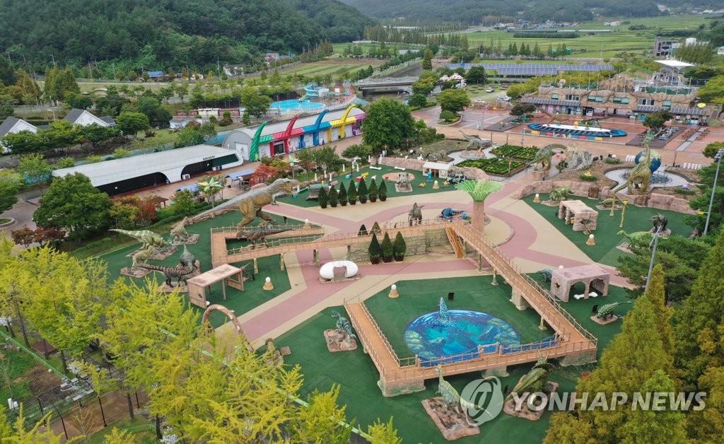 2021경남고성공룡엑스포 주행사장 당항포 관광지 전경